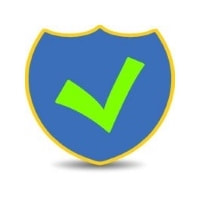 Background Check Shield and Checkmark